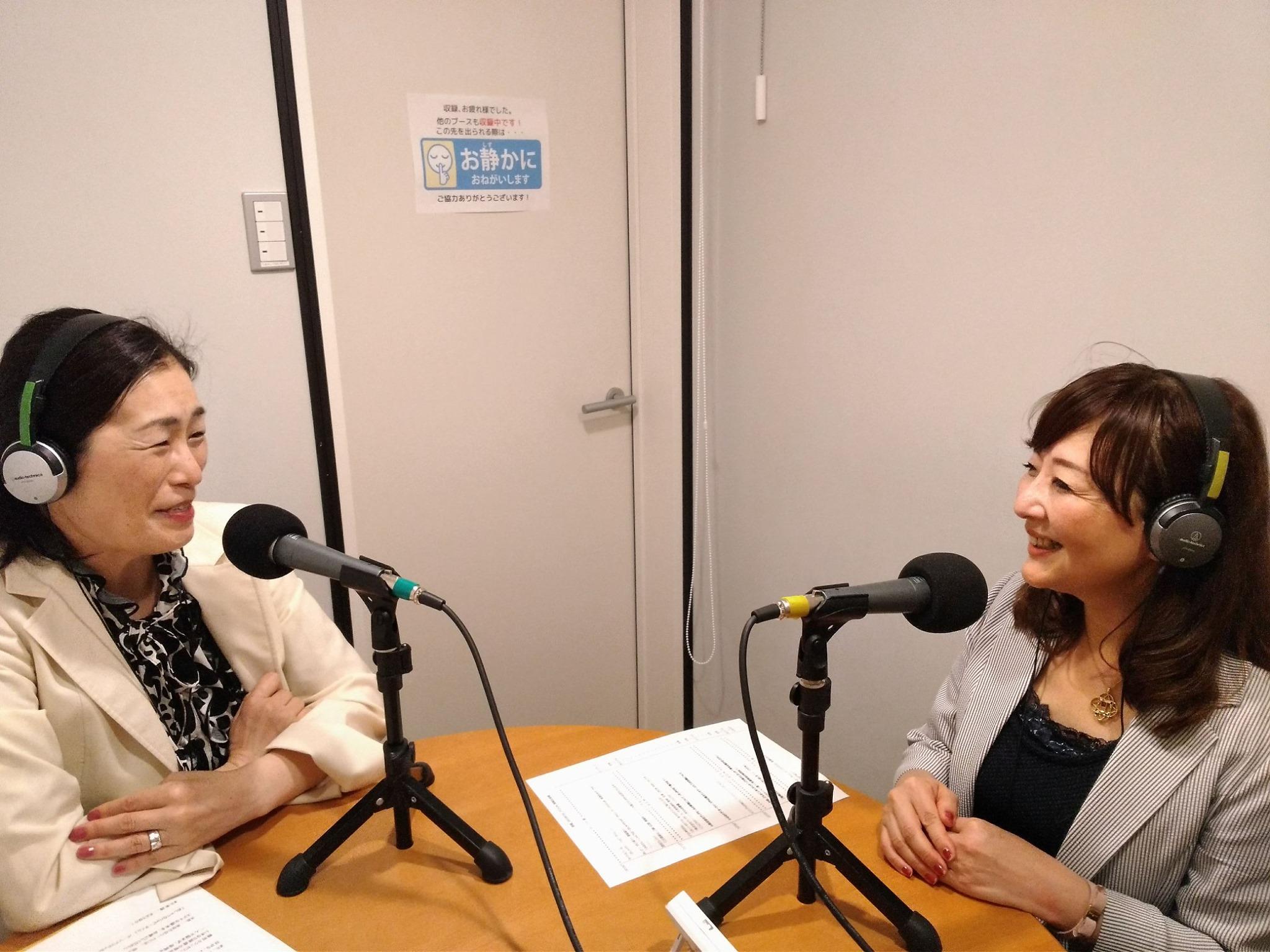 インターネットラジオ局「ゆめのたね放送局」でお話させて頂きました。